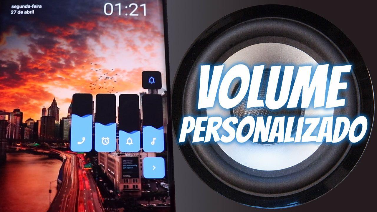 volume personalizado