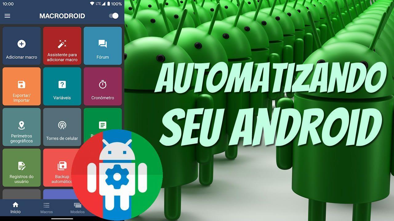 Automatizando seu android