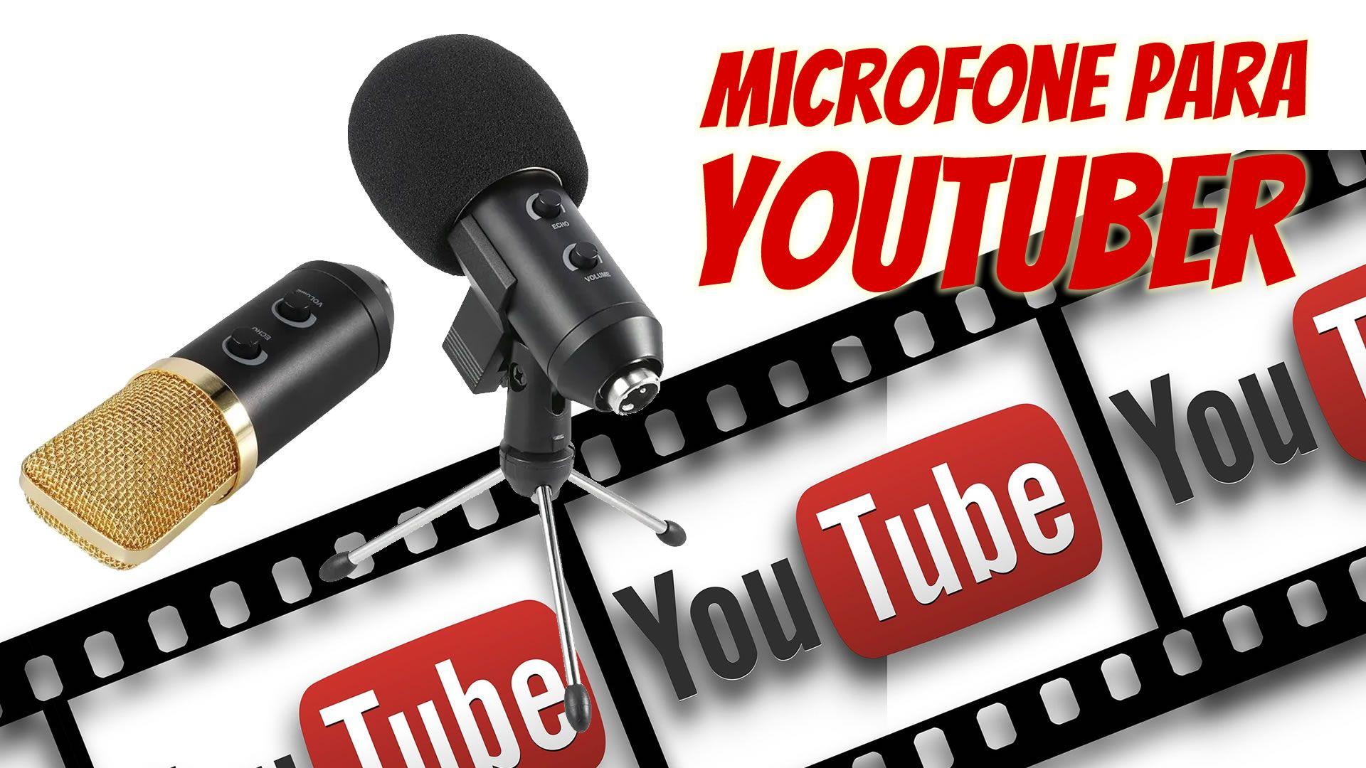microfone para youtuber