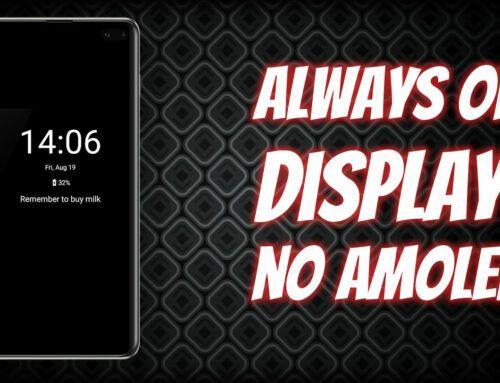 Como ativar o Always on Display