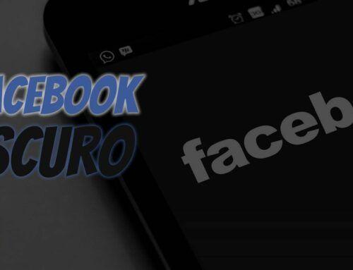 Facebook Modo Noturno (novo jeito)