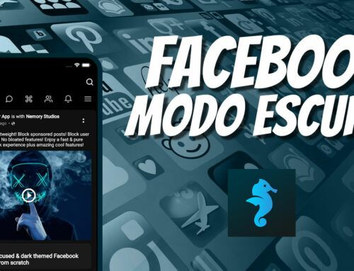Facebook modo noturno – Bluer