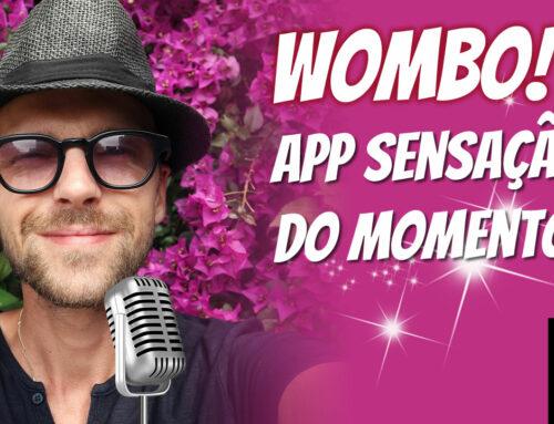 Wombo! App sensação do momento!